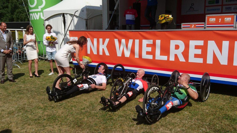 2e op NK handbiken in Montferland